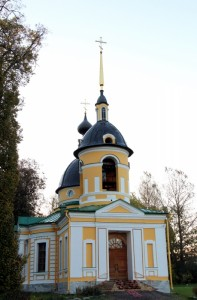 храм Святой Живоначальной Троицы. п.Гостилицы-